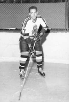 Courtesy AltonWhite came to Fort Wayne as a rookie in 1965 to play for the Komets. He was the first Black player to play for the team.