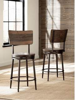 Recalled Jennings counter height stool - Lifestyle view.