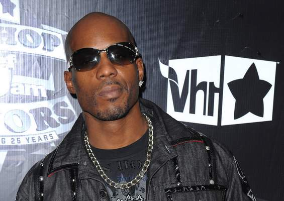 FILE - In this Sept. 23, 2009, file photo, DMX arrives at the 2009 VH1 Hip Hop Honors at the Brooklyn Academy of Music, in New York. (AP Photo/Peter Kramer, File)
