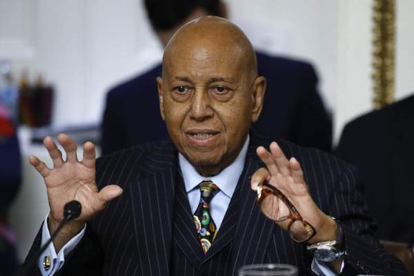 Associated Press Rep. Alcee Hastings, D-Fla., pictured in 2019, has died after a two-year fight with pancreatic cancer.