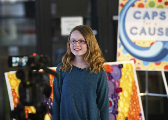 "Sammie, a sixth grader, said she was honored that her buddy bench effort was featured on BYUtv's ""Operation Awesome."""