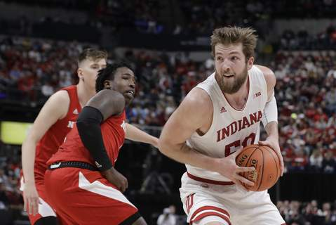 B10 Nebraska Indiana Basketball Associated Press