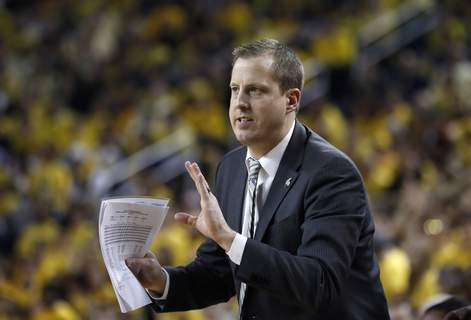 Michigan St Michigan Basketball Associated Press Dane Fife, pictured in 2019, has returned to the Indiana University basketball program as an assistant coach.  (Carlos OsorioSTF)