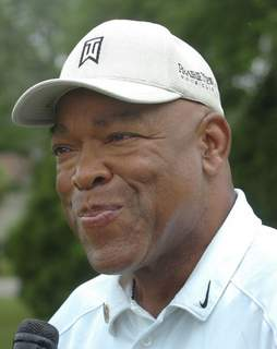 Keyes Cathie Rowand | The Journal Gazette: Former Purdue running back LeRoy Keyes at the 2006 Mad Anthony Charity Classic at Fort Wayne Country Club.