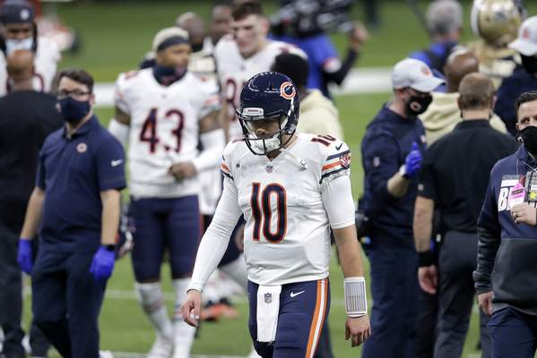 Associated Press Mitchell Trubisky was one of several highly drafted quarterbacks to change teams this offseason. He is now a backup in Buffalo.