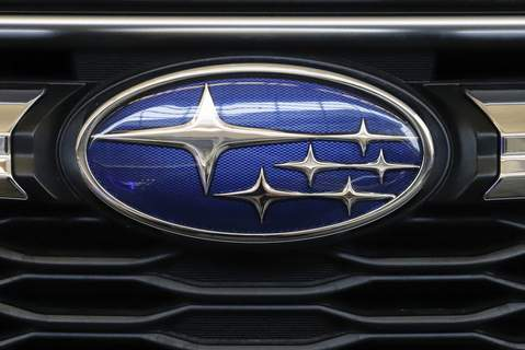 Subaru Recalls FILE - In this Feb. 14, 2019, file photo the Subaru logo on the front grill of a 2019 Subaru Impreza sedan is displayed at the 2019 Pittsburgh International Auto Show in Pittsburgh. Subaru is recalling nearly 875,000 cars and SUVs in the U.S. because the engines can stall or a rear suspension part can fall off. The stalling recall covers more than 466,000 Crosstrek SUVs from 2018 and 2019 and Impreza cars from 2017 through 2019. (AP Photo/Gene J. Puskar, File) (Gene J. Puskar STF)