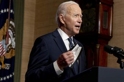 Afghanistan US FILE - In this April 14, 2021 file photo, President Joe Biden speaks from the Treaty Room in the White House about the withdrawal of the remainder of U.S. troops from Afghanistan. (AP Photo/Andrew Harnik, Pool, File) (Andrew Harnik POOL)