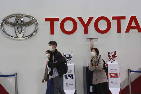Associated Press Toyota annouced Tuesday it's buying Lyft's self-driving division for $550 million.