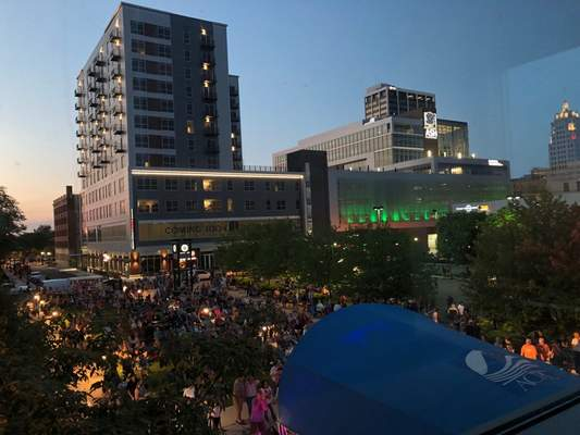 Courtesy The Allen County Public Library announced Wednesday the popular summer concert series Rock the Plaza will be canceled this year because of COVID-19 concerns.