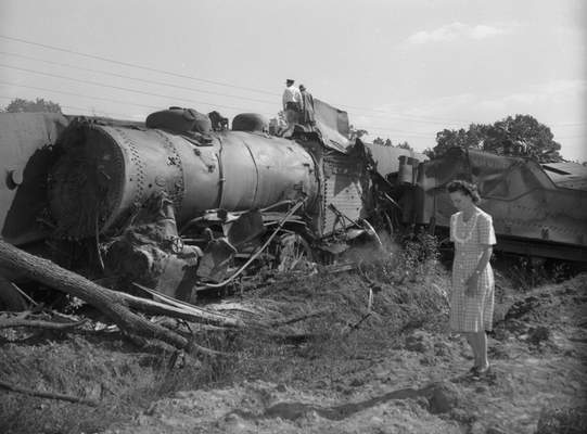 Three people were killed and more than a dozen injured in a crash of the Grand Rapids & Indiana Railroad No. 508 passenger train on Oct. 7, 1947.