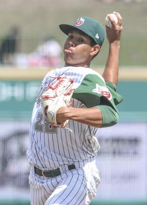 Michelle Davies | The Journal Gazette Anderson Espinoza will return to the TinCaps after not pitching in a minor-league game since 2016. He has had elbow surgery twice since then.