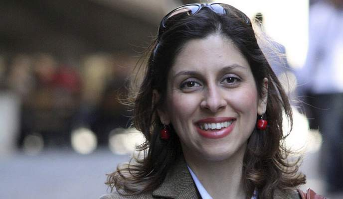 FILE - This undated file family photo, shows British-Iranian woman Nazanin Zaghari-Ratcliffe. On Sunday, May 2, 2021, Iranian state TV quoted an anonymous official that deals have been reached to release prisoners with Western ties held in Iran. The official said a deal made between the U.S. and Tehran will see a prisoner swap in exchange for the release of $7 billion in frozen Iranian funds. State TV also quoted the official saying a deal had been reached for the United Kingdom to pay 400 million pounds to see the release of Zaghari-Ratcliffe. (Nazanin Zaghari-Ratcliffe via AP, File)