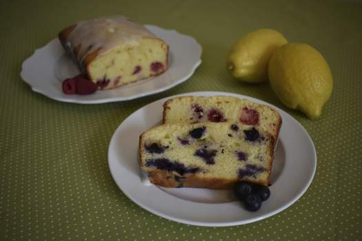 Corey McMaken | The Journal Gazette Lemon Berry Loaf can be made with blueberries or raspberries for pops of fresh flavor. (Corey McMaken | The Journal Gaze)