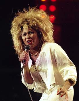 Music-Rock Hall FILE - Tina Turner performs at New York's Madison Square Garden on Aug. 1, 1985. Turner will be inducted to the Rock & Roll Hall of Fame. (AP Photo/Ray Stubblebine, File) (Ray Stubblebine