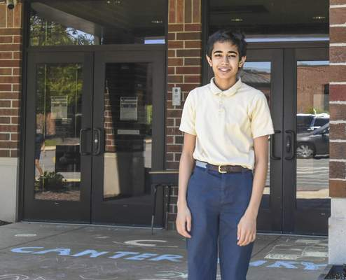 Michelle Davies   The Journal Gazette Journal Gazette regional champ Ishan Ramrakhiani, from  Canterbury Middle School, will compete next month virtually in the Scripps National Spelling Bee.