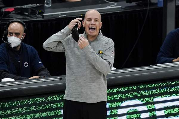 Associated Press Nate Bjorkgren was fired Wednesday as coach of the Indiana Pacers. He lasted just one season.