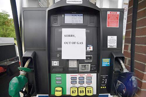 Associated Press A ransomware attack in May led to price spikes and fuel shortages in the eastern United States, here in Kennesaw, Georgia.