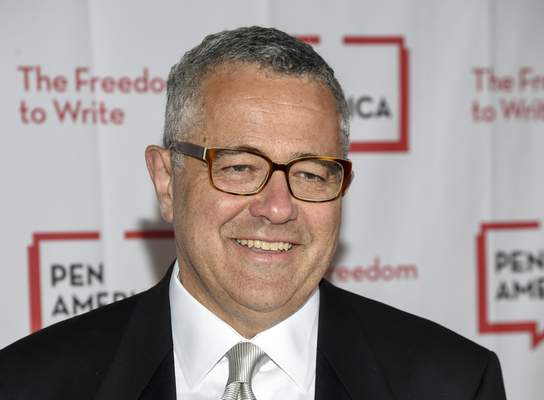 FILE - Jeffrey Toobin attends the PEN Literary Gala on May 22, 2018, in New York. (Photo by Evan Agostini/Invision/AP, File)