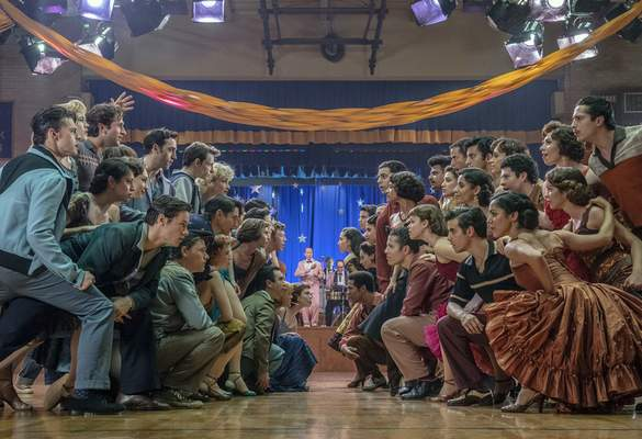 This image released by 20th Century Studios shows a scene from West Side Story. (Niko Tavernise/20th Century Studios via AP)
