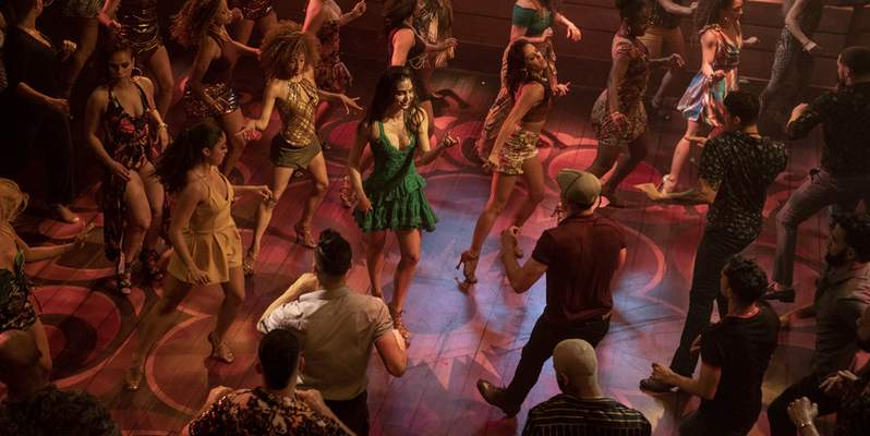 This image released by Warner Bros. Pictures shows a scene from In the Heights. (Macall Polay/Warner Bros. via AP)
