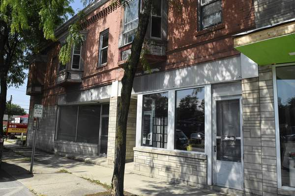 Michelle Davies | The Journal Gazette Buildings in the 2000 block of Fairfield Avenue that are undergoing a revival.