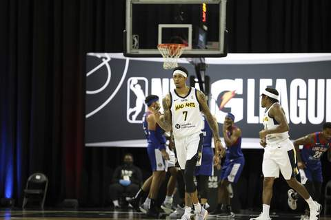 Mad Ants/NBAE  Devin Robinson, who played last season for the Mad Ants, will compete in The Basketball Tournament for Eberlein Drive. (Chris Marion Contributor)