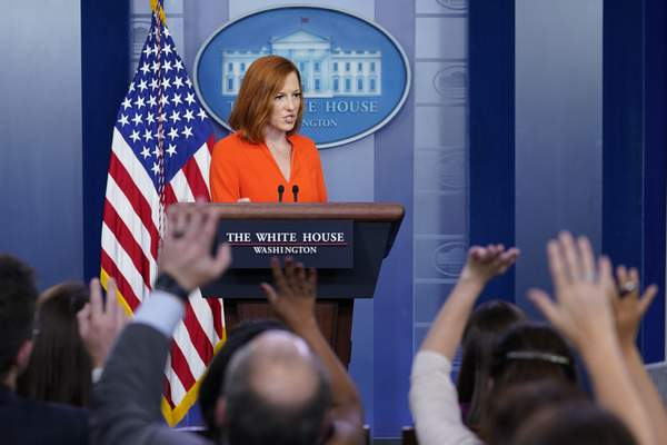 Associated Press White House press secretary Jen Psaki on Monday reiterated President Joe Biden's disapproval of GOP proposals for funding his infrastructure initiative.