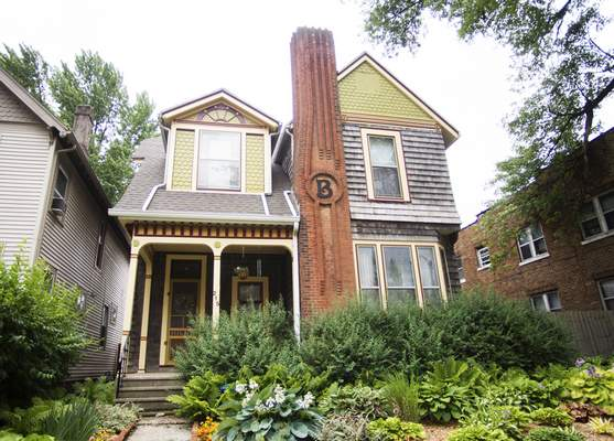Katie Fyfe | The Journal Gazette The 135-year-old Diffenderfer House  on DeWald Street has been recommended as a historic site.