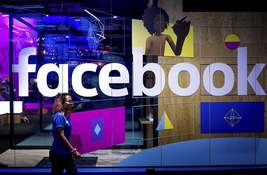 Facebook-Audio Streams Associated Press Facebook has created a platform for podcasts and live audio streams to keep users engaged. (Noah BergerFRE)
