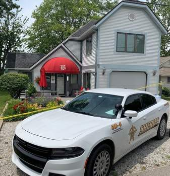 Courtesy Steuben Co. Sheriff's Department An 82-year-old woman was found dead Wednesday in this Lake James home.