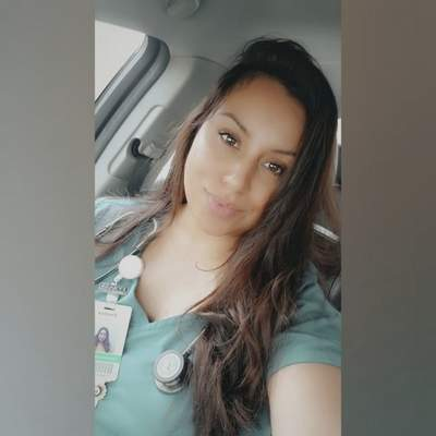 """Courtesy  Enedina Olivarez, a University of Saint Francis-trained ICU nurse, was a patron at the Mambo Room May 23 and is credited with saving the life of Johnny """"5"""" Quintanilla, a bar manager."""