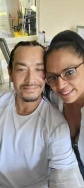 """Courtesy Johnny """"5"""" Quintanilla, survived five shots outside the Mambo Bar on May 23. His sister, Belinda, was there and has helped nurse him during his rehab."""