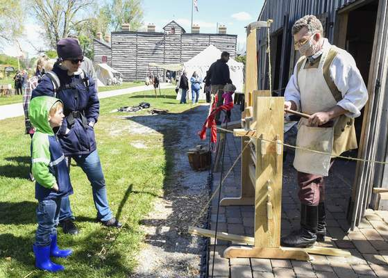 The Old Fort is offering summer hours that feature craftspeople showing their skills on Thursdays and soldiers who will talk to visitors and answer questions on Saturdays and Sundays.