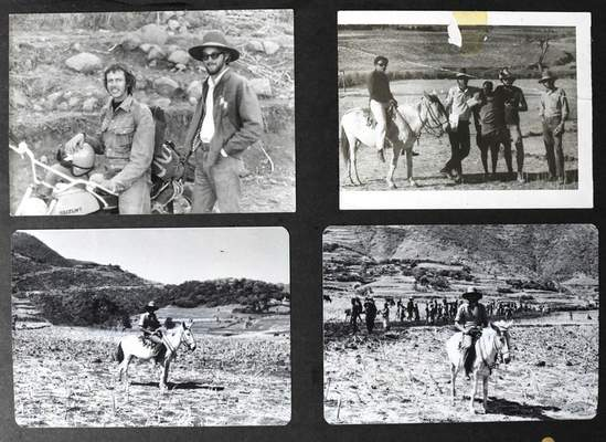 Courtesy  Photos from a photo album of Dee McClurg's time spent in Ethiopia in the Peace Corps.
