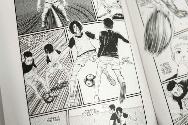 Photos by Mike Moore | The Journal Gazette  Banda's manga comic book is inspired by his life.