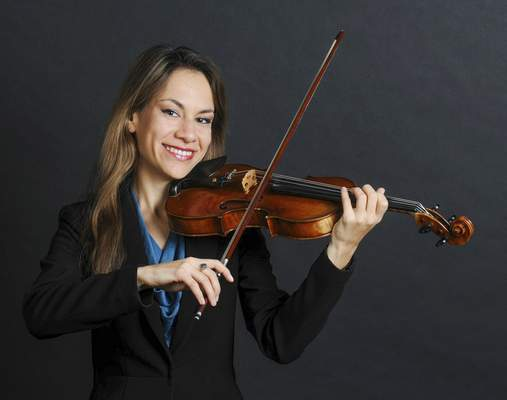 File Concertmaster Violetta Todorova will be one of the musicians highlighted in the Philharmonic's new season.