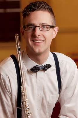 Courtesy Principal flute Luke Fitzpatrick will be one of the featured Philharmonic musicians for its new season