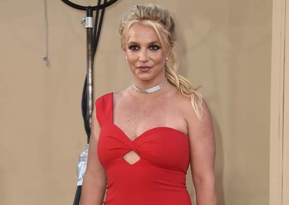 FILE - Britney Spears arrives at the Los Angeles premiere of Once Upon a Time in Hollywood on July 22, 2019. (Photo by Jordan Strauss/Invision/AP, File)