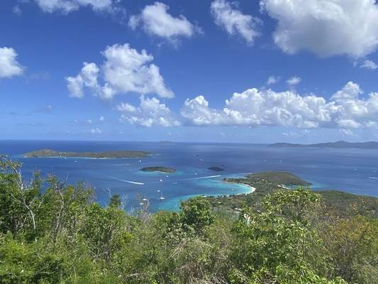 Photo by David Placher  St. John is perfect for hiking. This is one of the many sites you can see from a hiking trail.