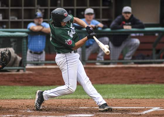 Mike Moore   The Journal Gazette TinCaps designated hitter Jonny Homza says hitters at High-A have a plan when they're in the batter's box.