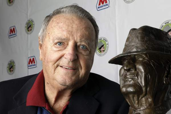 FILE - In this Jan. 18, 2011, file photo, Bobby Bowden poses with the Paul Bear Bryant College Coach of the Year Award in Houston. The legendary college football coach announced Wednesday, July 21, 2021, that he has been diagnosed with a terminal medical condition. (AP Photo/David J. Phillip, File)