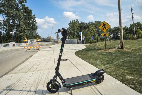 Mike Moore | The Journal Gazette City officials have dropped plans to regulate motorized scooters.