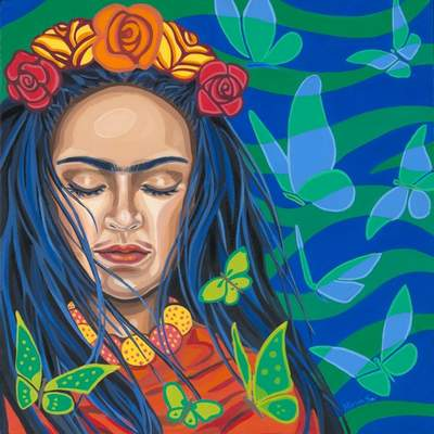 """Courtesy Work of Latino artists is part of the exhibit """"Artes Latinas in Wabash"""" at the Clark Gallery at the Honeywell Center in Wabash through Aug. 22."""