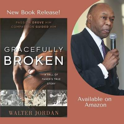 """Courtesy photo Walter Jordan, the former Northrop and Purdue star, wrote a book,""""Gracefully Broken"""", which was released June 16 and quickly climbed into Amazon's Top 10 ranking for basketball books."""