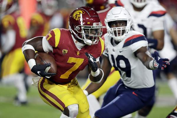 Associated Press Former USC running back Stephen Carr has transferred to Indiana.