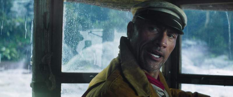 This image released by Disney shows Dwayne Johnson in a scene from Jungle Cruise. (Disney via AP)