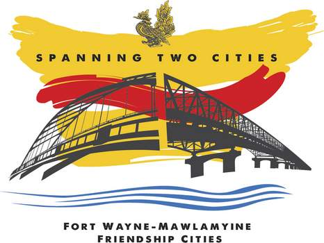 A new logo created by Boyden & Youngblutt of Fort Wayne commemorates the Friendship City ties between Fort Wayne and Mawlamyine. A military coup in Myanmar has brought a halt to exchange programs between the two cities.