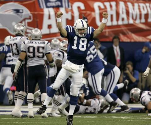 Associated Press Ahead of his upcoming enshrinement in the NFL Hall of Fame on Sunday, former Colts QB Peyton Manning lamented that injuries forced him to leave the team that drafted him for Denver.