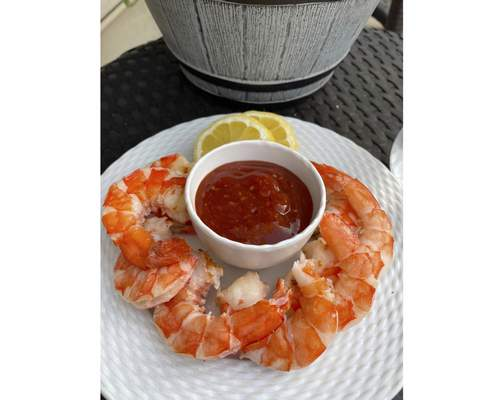 Associated Press  Grilled Shrimp with Bloody Mary Cocktail Sauce