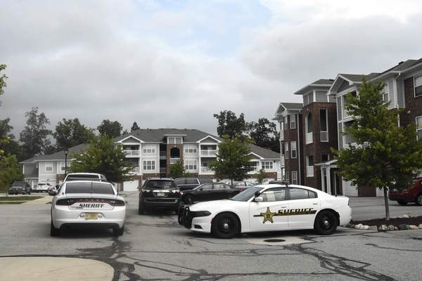 Michelle Davies | The Journal Gazette The Allen County Sheriff's Department was called to the 10000 block of Day Lily Drive where one person was killed and another hurt in a shooting.